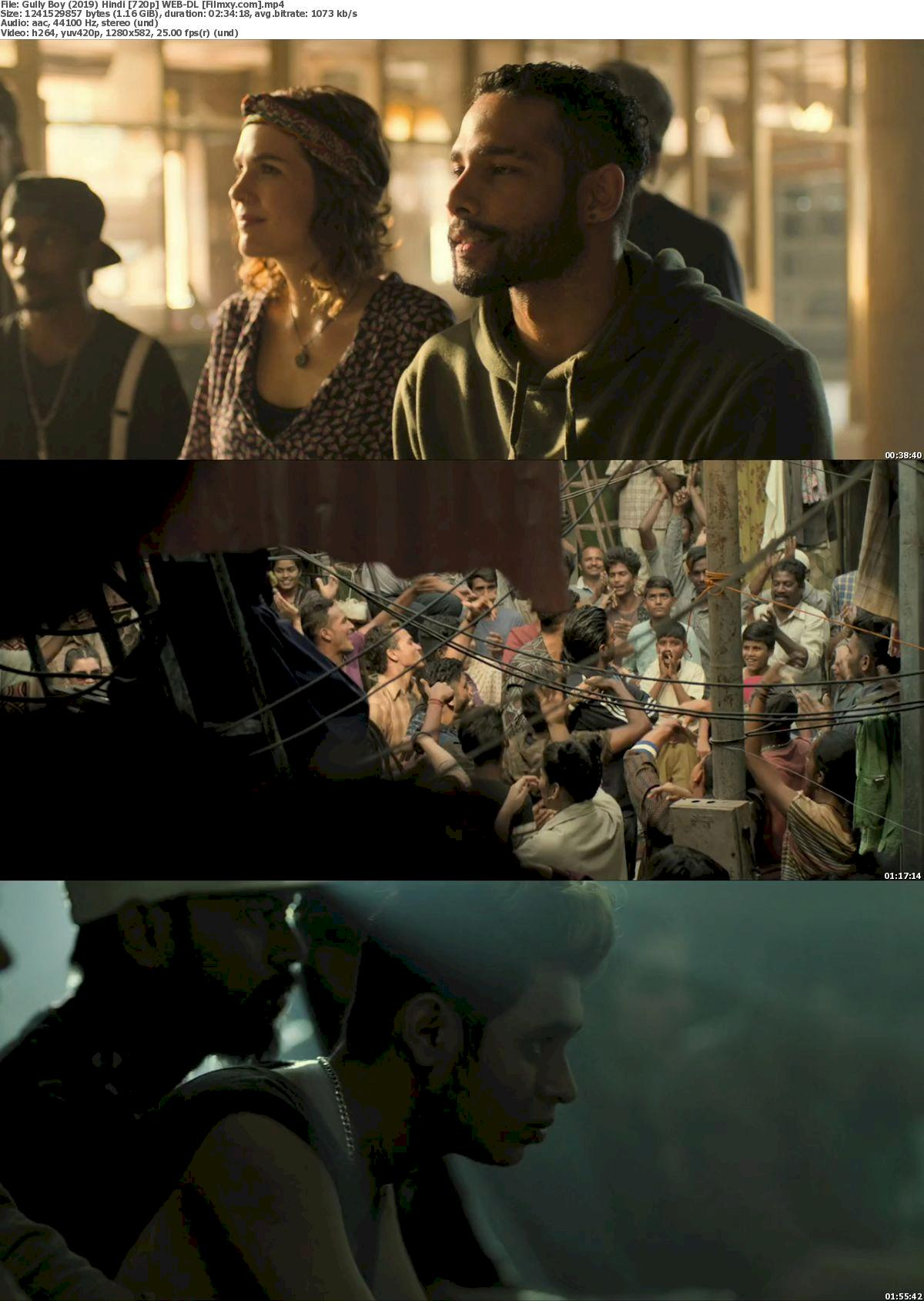 Gully Boy (2019) Hindi [720p & 1080p] WEB-DL Free Movie Watch Online & Download 720p Screenshot