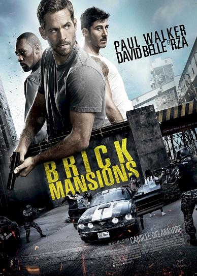Brick Mansions (2014) cover