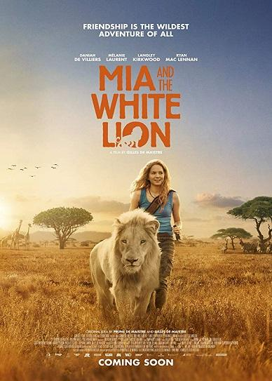 Mia and the White Lion Cover