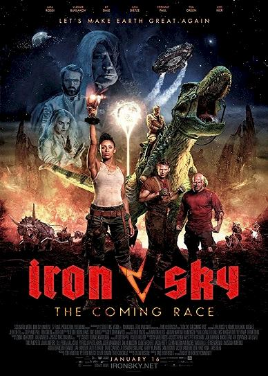 Iron Sky: The Coming Race Cover