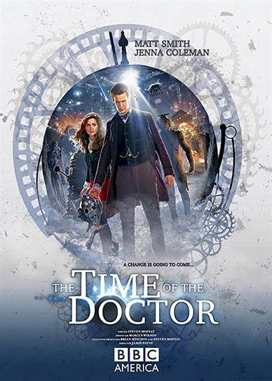 Doctor Who The Time of the Doctor Cover