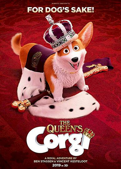 The Queen's Corgi Cover