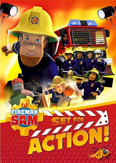Fireman Sam: Set for Action! Cover