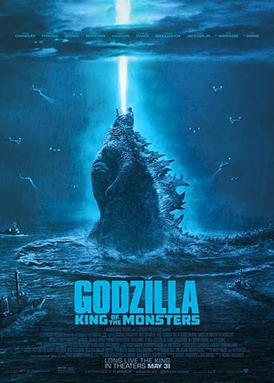 Godzilla: King of the Monsters (2019) Cover