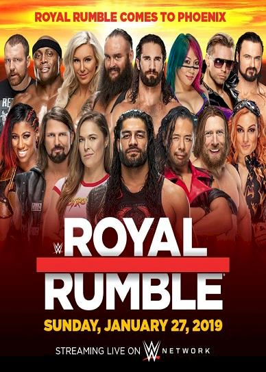 WWE Royal Rumble Cover