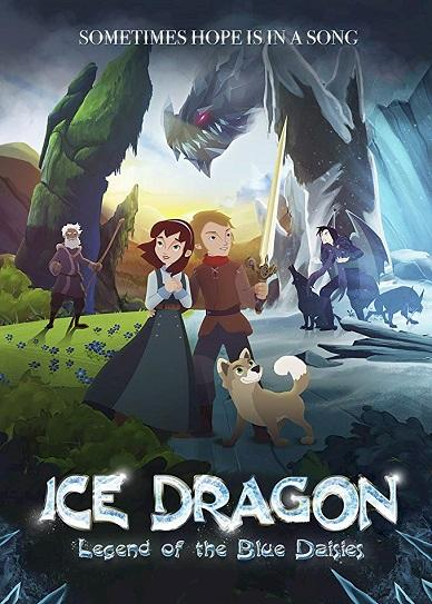 Ice Dragon: Legend of the Blue Daisies Cover