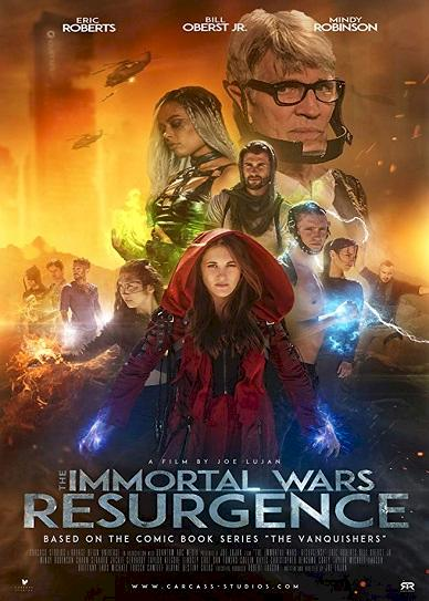 The Immortal Wars: Resurgence Cover