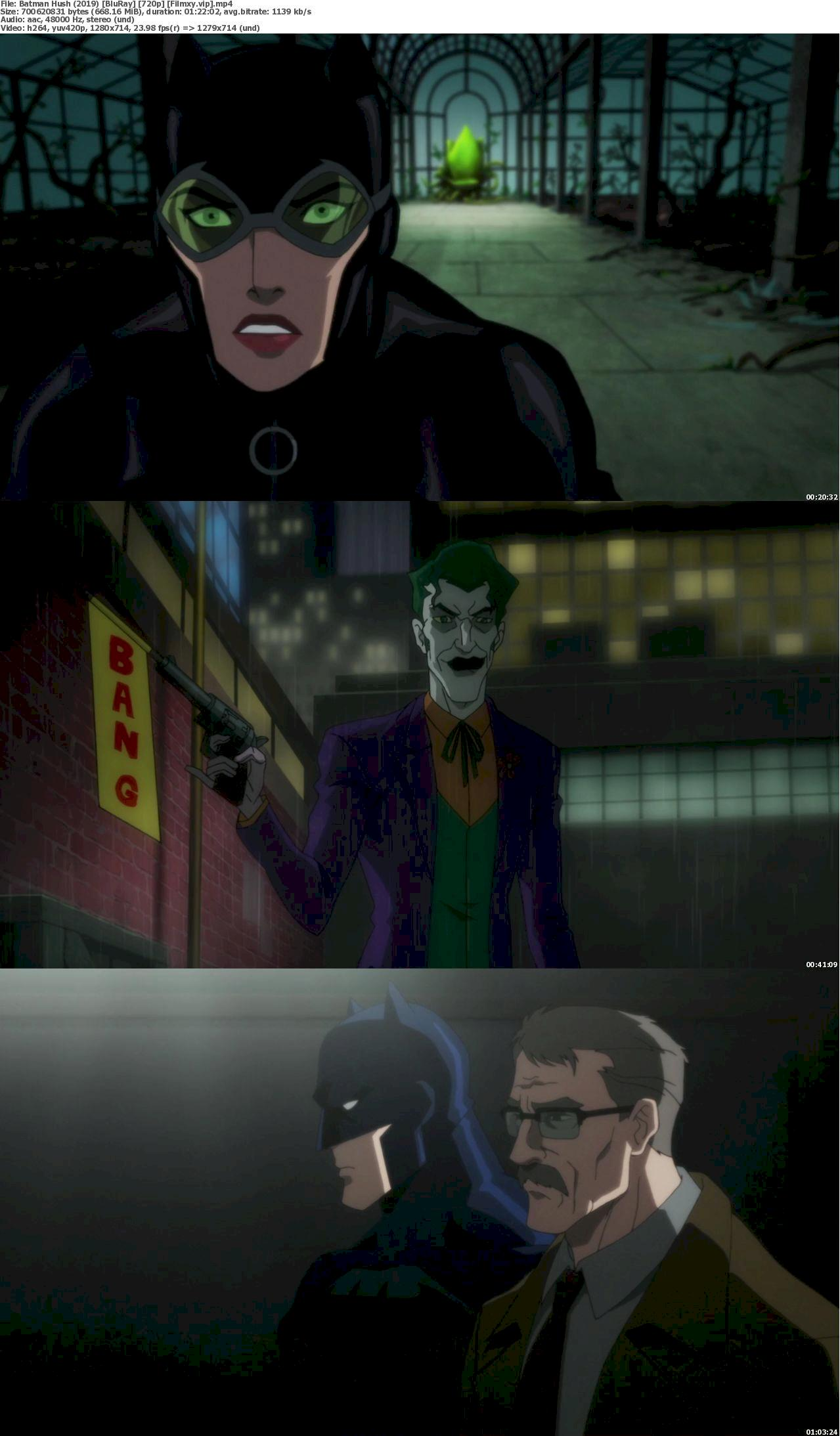 Batman: Hush (2019) [720p & 1080p] Bluray Free Movie Watch Online & Download 720p Screenshot