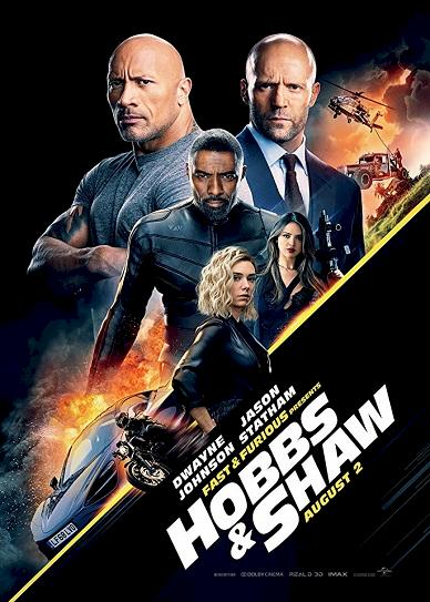 Fast & Furious Presents: Hobbs & Shaw Cover