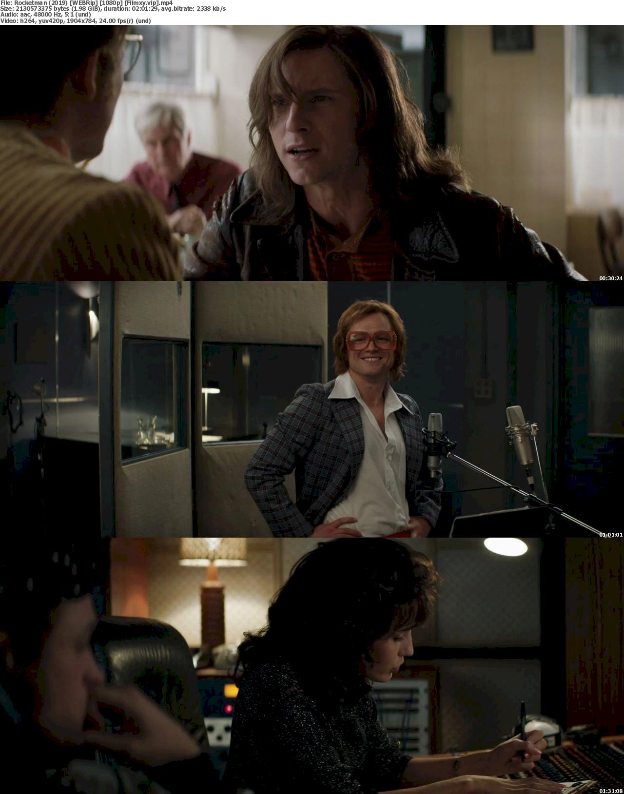 Rocketman (2019) [720p & 1080p] WEB-Rip Free Movie Watch Online & Download 1080p Screenshot