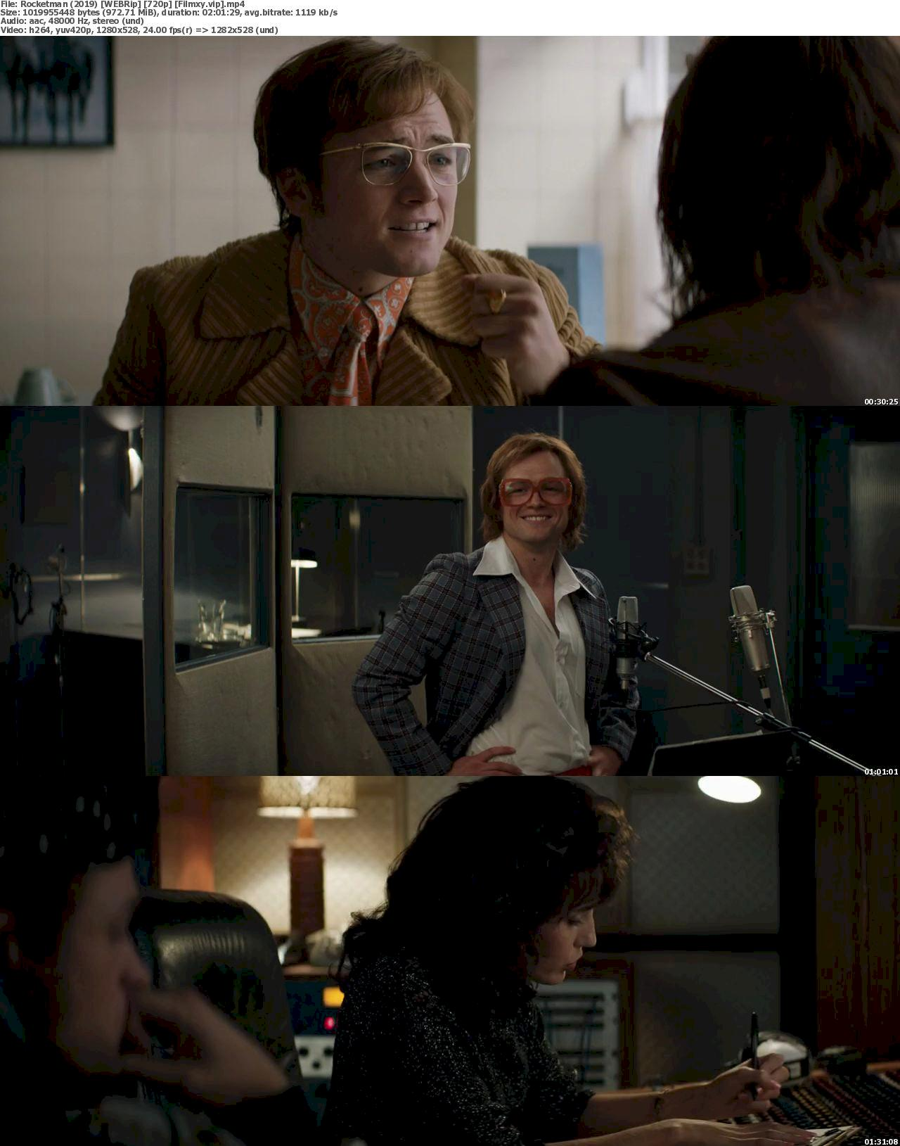 Rocketman (2019) [720p & 1080p] WEB-Rip Free Movie Watch Online & Download 720p Screenshot