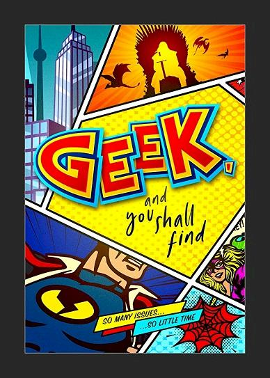 Geek, and You Shall Find Cover