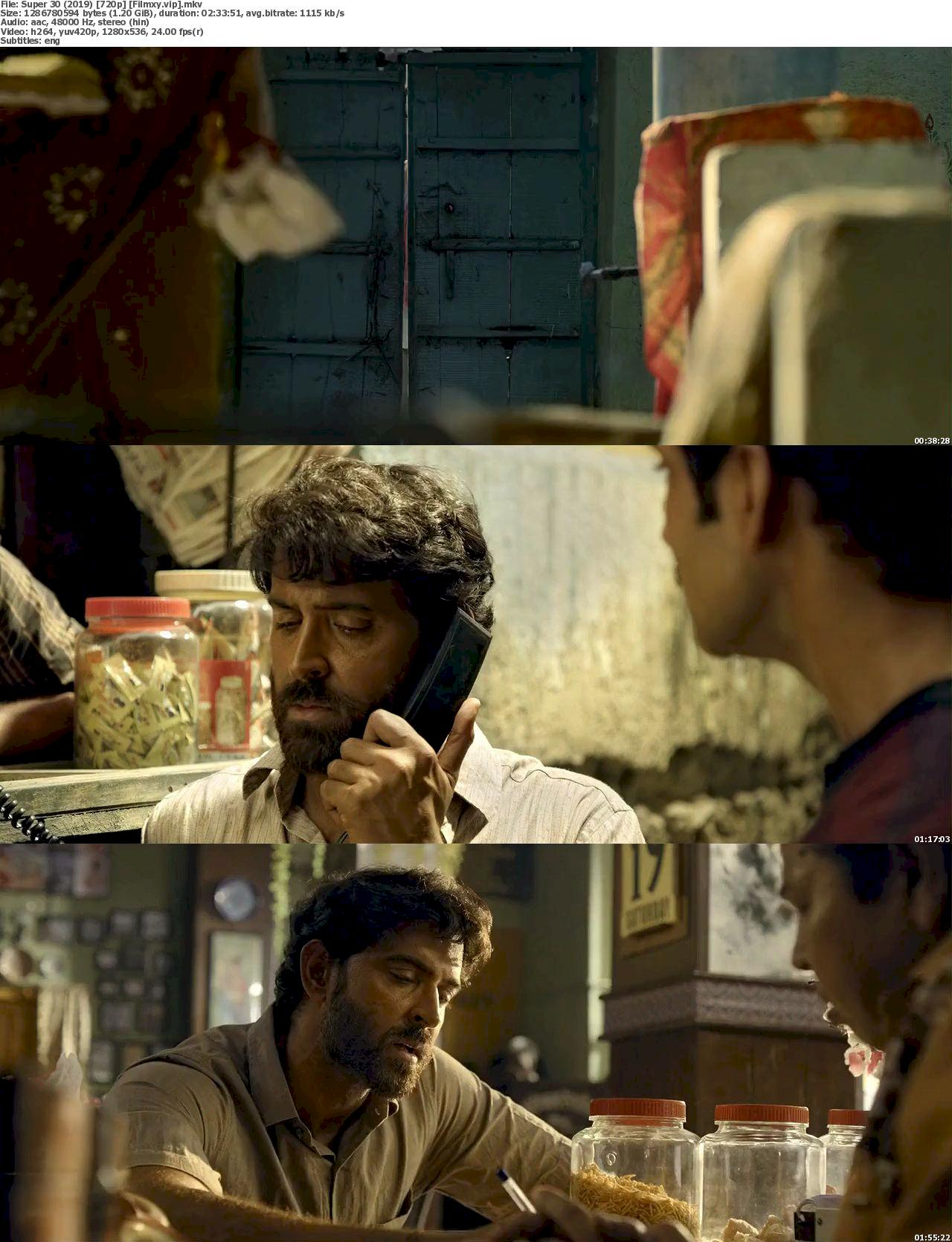 Super 30 (2019) [720p & 1080p] WEB-Rip Free Movie Watch Online & Download 720p Screenshot