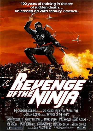 Revenge of the Ninja Cover