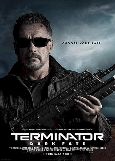 Terminator: Dark Fate Cover