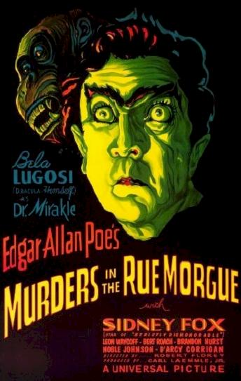 Murders in the Rue Morgue Cover