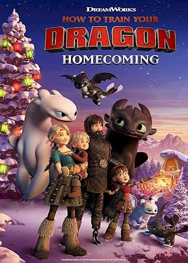 How to Train Your Dragon Homecoming Cover