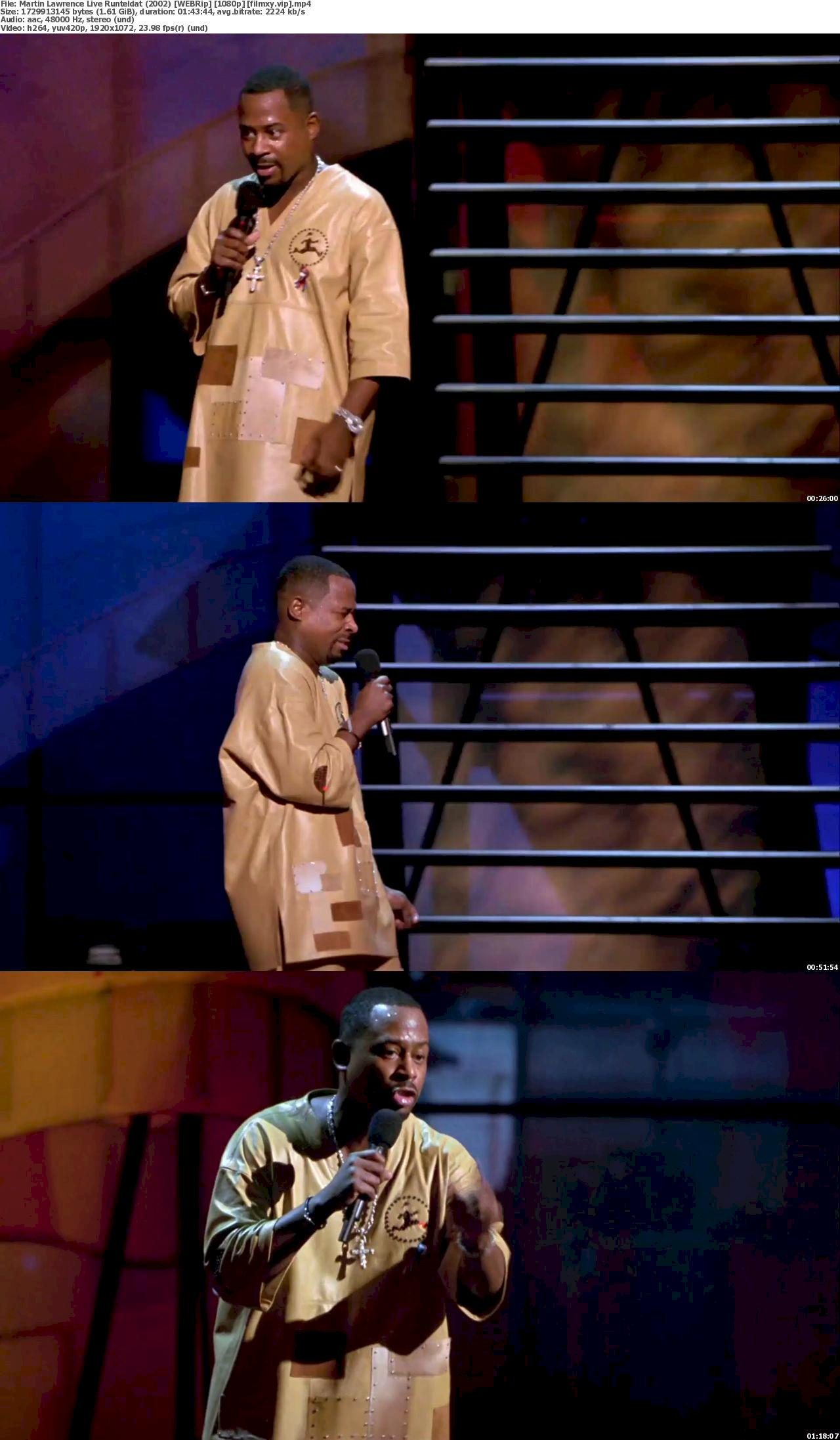 Martin Lawrence Live: Runteldat (2002) 1080p Screenshot