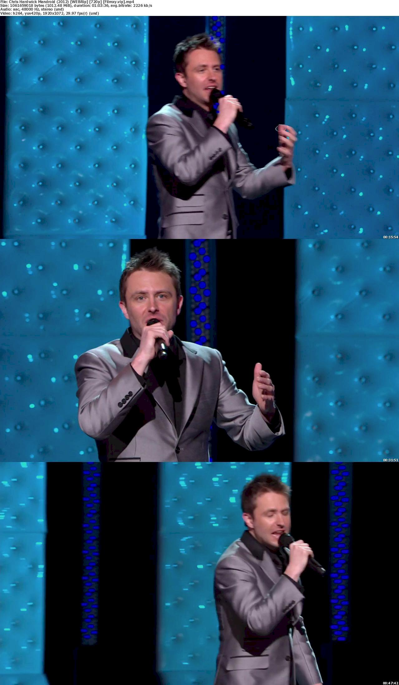 Chris Hardwick: Mandroid (2012) 720p Screenshot
