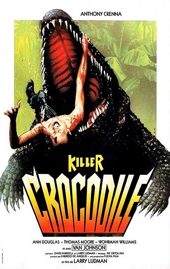 Killer Crocodile Cover