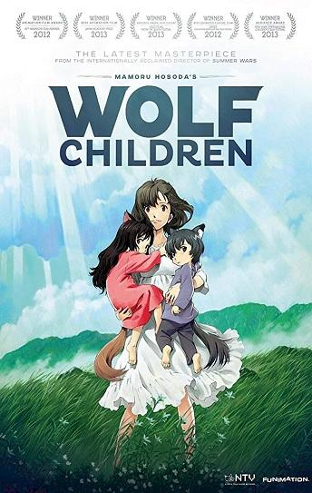 Wolf Children Cover