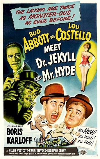 Abbott and Costello Meet Dr. Jekyll and Mr. Hyde Cover