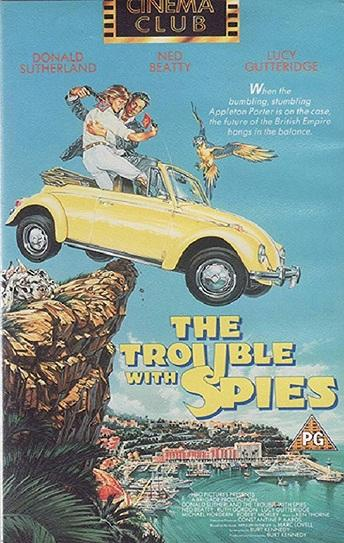 The Trouble with Spies Cover