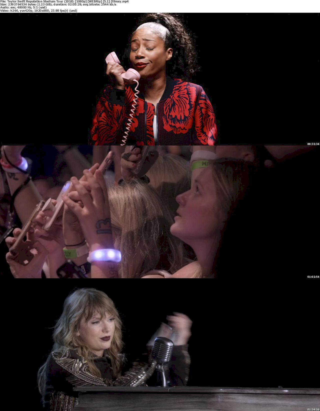 Taylor Swift: Reputation Stadium Tour (2018) |1080p Screenshot