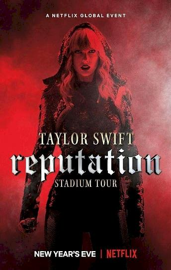 Taylor Swift: Reputation Stadium Tour Cover