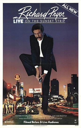 Richard Pryor: Live on the Sunset Strip Cover