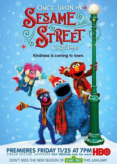 Once Upon a Sesame Street Christmas Cover