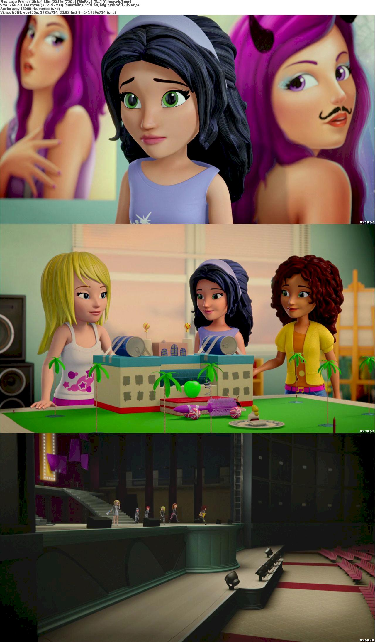 Lego Friends: Girlz 4 Life (2016) 720p Screenshot