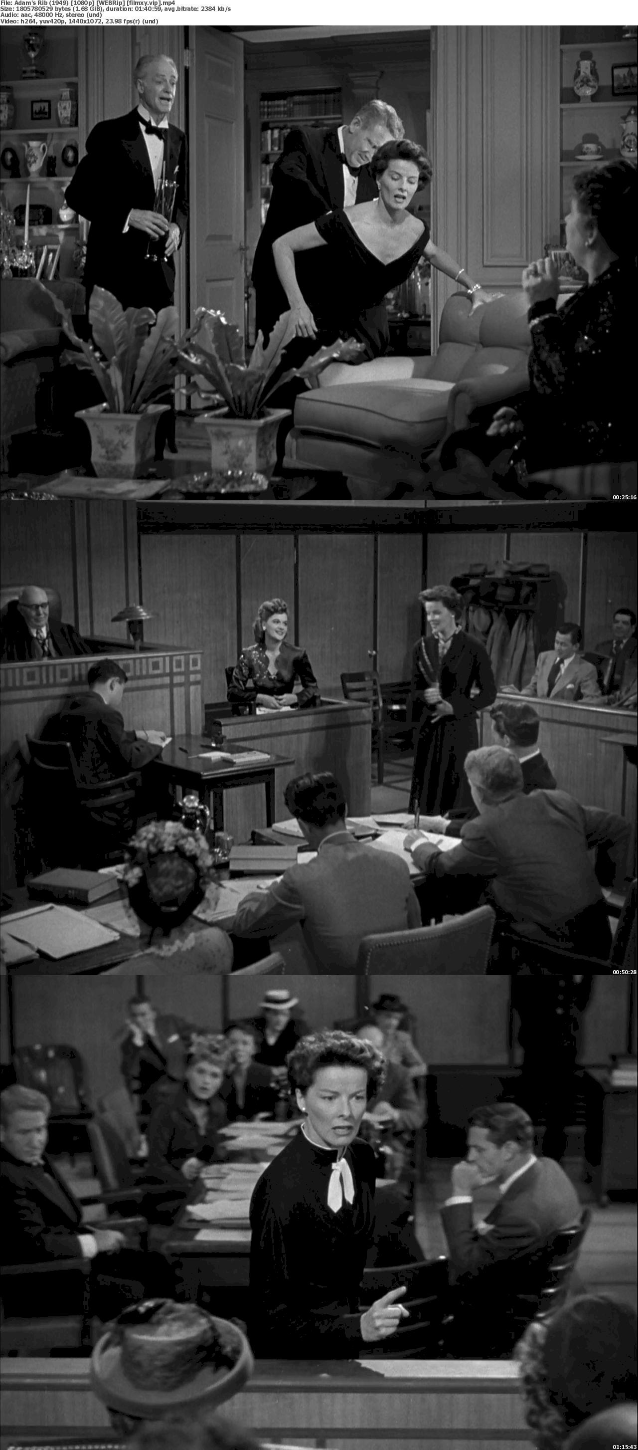 Adam's Rib (1949) 1080p Screenshot