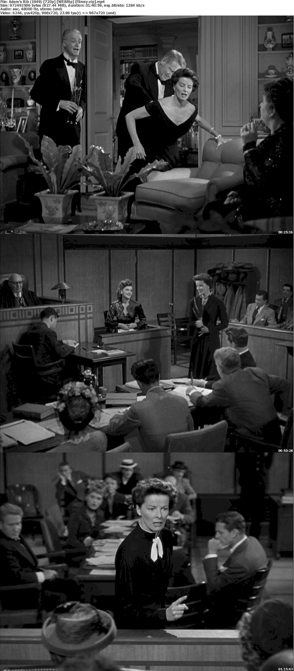 Adam's Rib (1949) 720p Screenshot