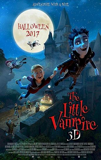The Little Vampire 3D Cover