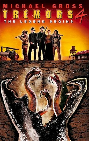 Tremors 4: The Legend Begins Cover