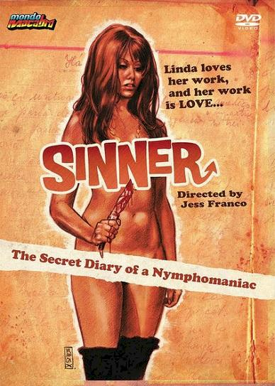 Sinner: The Secret Diary of a Nymphomaniac Cover