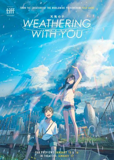 Weathering with You Cover