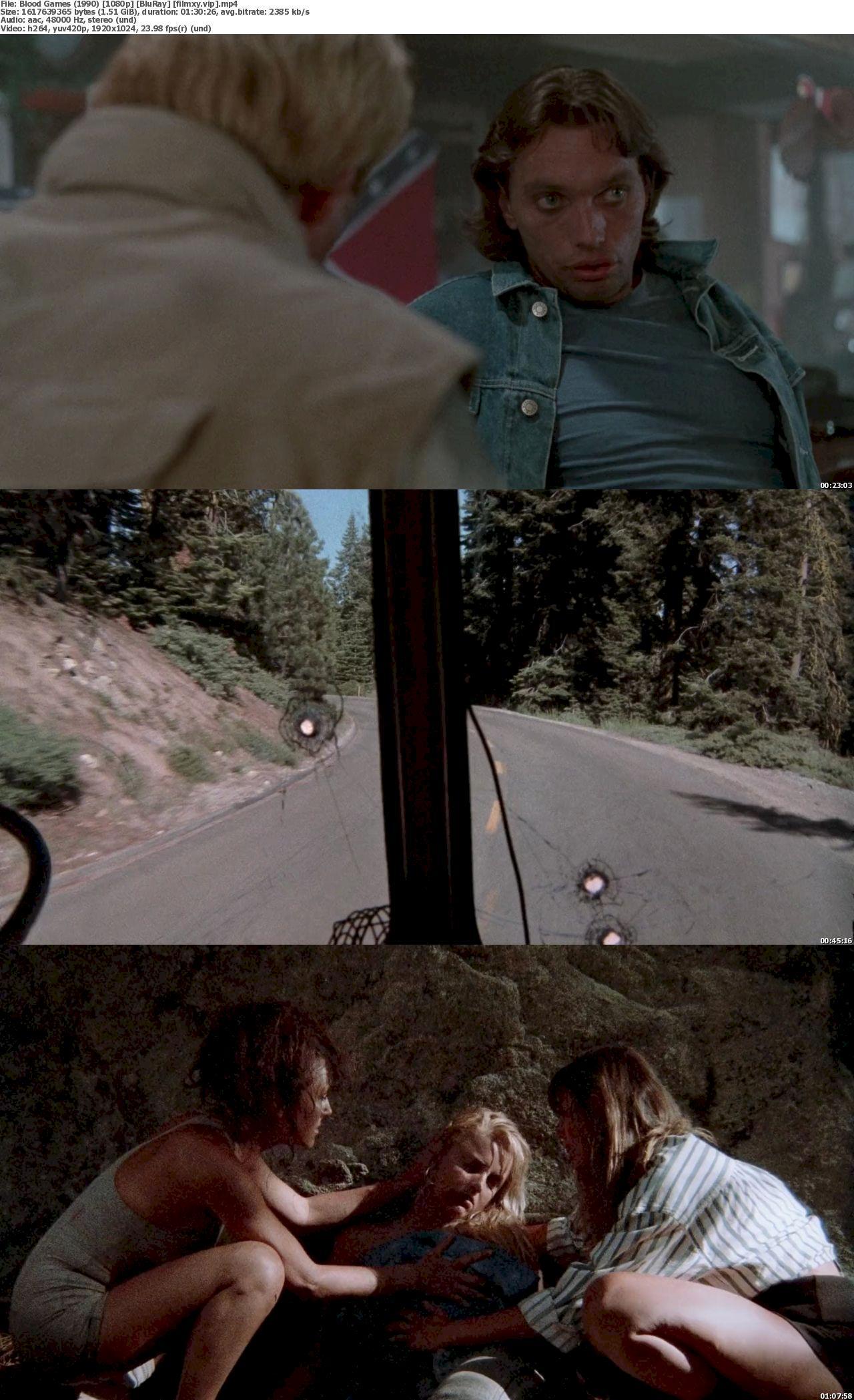 Watch Blood Games (1990) Full Movie on Filmxy